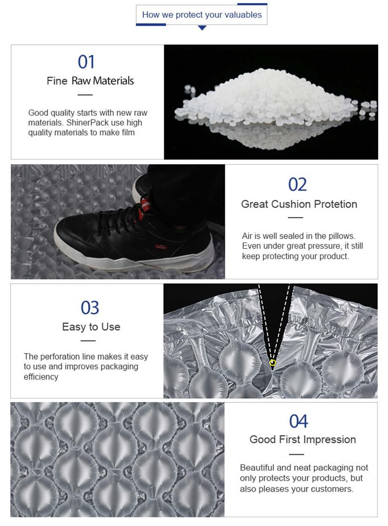 air bubble packaging