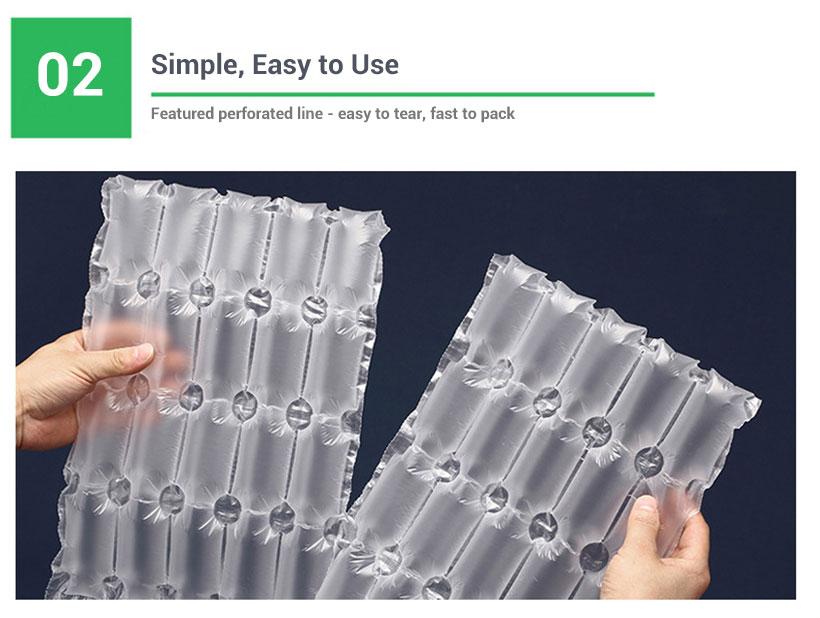 perforated air cushion film